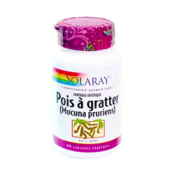 SOLARAY POIS À GRATTER - 60 Capsules