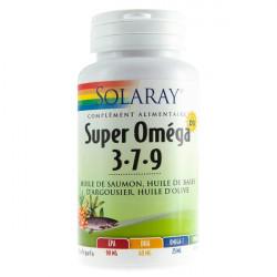 SOLARAY SUPER OMÉGA 3 7 9 - 60 Gélules