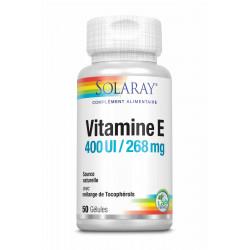 SOLARAY VITAMINE E - 50 Gélules