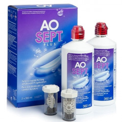 ALCON AOSEPT PLUS x 2 - 360 ml
