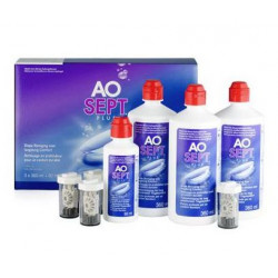 ALCON AOSEPT PLUS x 3 - 360 ml + 90 ml