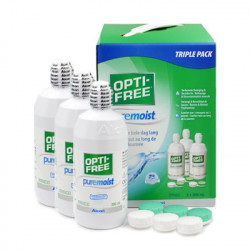ALCON OPTI-FREE PURE MOIST MULTIF x 3 - 300 ml