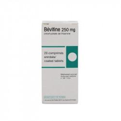 BEVITINE 250 mg, comprimé enrobé, boîte de 20