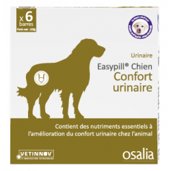OSALIA EASYPILL CHIEN CONFORT URINAIRE 28 g - 6 Barres