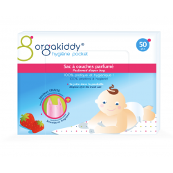 ORGAKIDDY SAC COUCH PARF FRAISE 50