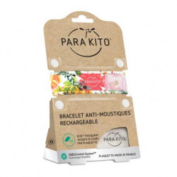 PARA KITO BRACELET ANTI-MOUSTIQUES FLOWERY