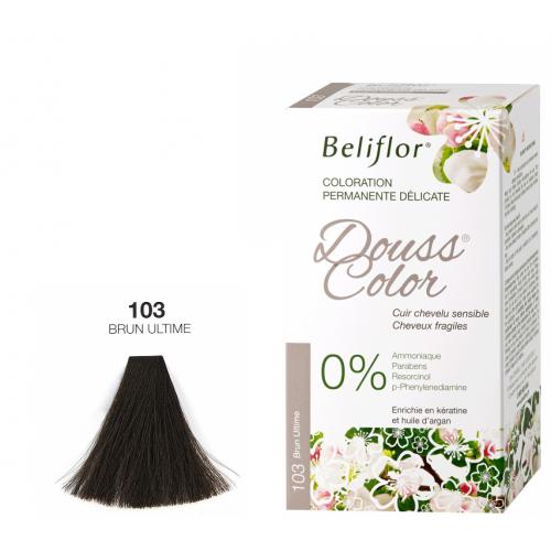 BELIFLOR COLORATION CHEVEUX DOUSSCOLOR N°103 Brun Ultime - 131