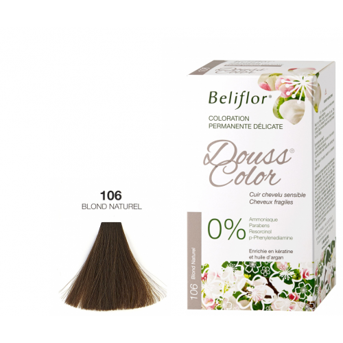 BELIFLOR COLORATION CHEVEUX DOUSSCOLOR N°106 Blond Naturel -
