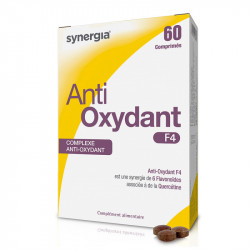 SYNERGIA Anti-Oxydant F4 - 60 comprimés
