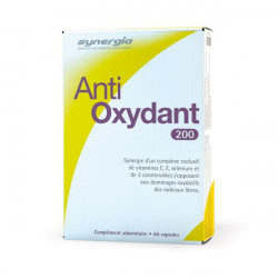 SYNERGIA A/OXYDANT 200 CAPS 60