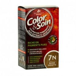 COLOR & SOIN Coloration Permanente N°7N - Blond Noisette