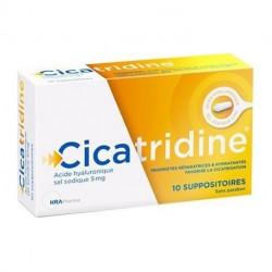 CICATRIDINE 10 SUPPOSITOIRES