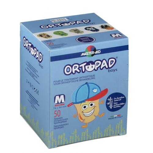 ORTOPAD ORTOPAD BOY PANSEMENT OCULAIRE GD/MOT MEDIUM - 50 Pièces
