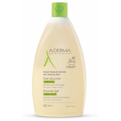 ADERMA Gel Douche Surgras - 500ML