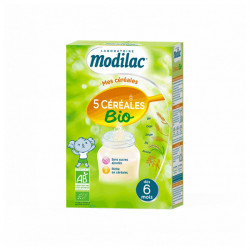 MODILAC 5 CEREAL BIO 230G