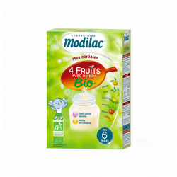 MODILAC CEREALE 4FRUIT QUINOA 230G