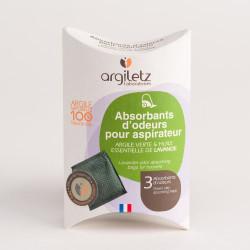 ARGILETZ ABSORBANT D'ODEUR ASPIRATEUR LAVANDE - 75 g