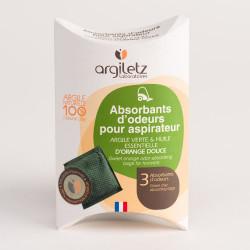 ARGILETZ ABSORBANT D'ODEUR ASPIRATEUR ORANGE - 75 g