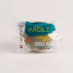 ARGILETZ SAVON EXFOLIANT CORPS ARGILE VERT - 100 g