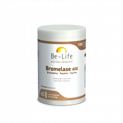 BE LIFE BROMELASE 400 - 60 Gélules