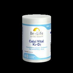 BE LIFE CALCI VITAL K2 D3 - 60 Gélules