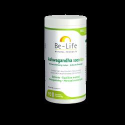 BE LIFE ASHWAGANDHA 5000 BIO (WITTHANIA) - 90 Gélules