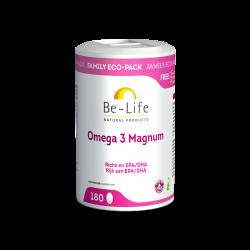 BE LIFE OMEGA 3 MAGNUM - 180 Capsules