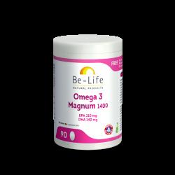 BE LIFE OMEGA 3 MAGNUM 1400 - 90 Capsules