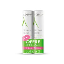 ADERMA Stick Lèvres 2X4G