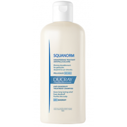 DUCRAY SQUANORM Shampooing Traitant - Pellicules Sèches - 200ML
