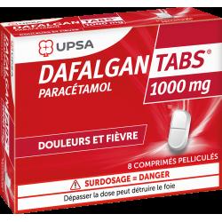 UPSA DAFALGAN TABS 1000 mg - 8 comprimés