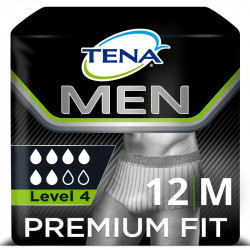 TENA MEN SOUS-VÊTEMENT ABSORBANT PREMIUM FIT M L4
