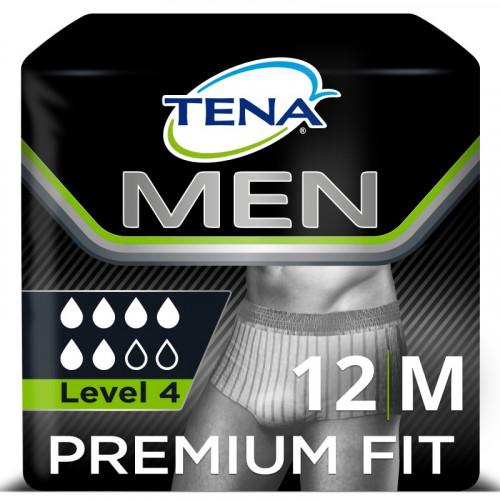 TENA MEN SOUS-VÊTEMENT ABSORBANT PREMIUM FIT M L4