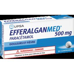 UPSA EFFERALGANMED 500 mg - 16 Comprimés