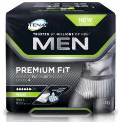 Tena Men Ppu L4 Large 10 798306
