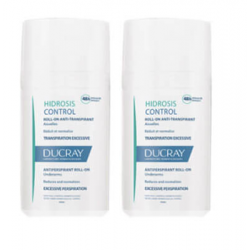 DUCRAY HIDROSIS CONTROL Roll-On Anti-Transpirant - Lot de 2x40ML