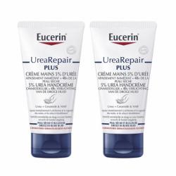 EUCERIN UreaRepair PLUS 5% Urea Crèmes Mains Réparatrices Lot