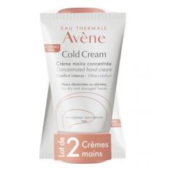 AVÈNE COLD CREAM Crème Mains Concentrée - Lot de 2X50ML