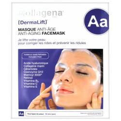COLLAGENA DERMALIFT MASQUE ANTI-ÂGE HYDROGEL - 5 Masques