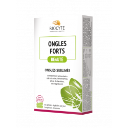 BIOCYTE ONGLES FORTS - 40 Gélules