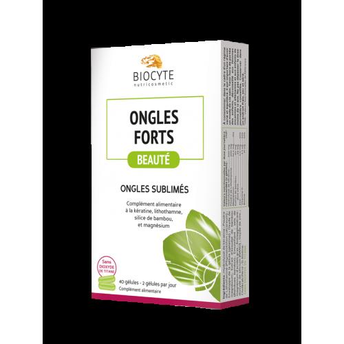 BIOCYTE ONGLES FORTS - 40 Gélules