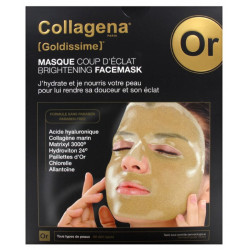 COLLAGENA GOLDISSIME MASQUE COUP D'ÉCLAT - 5 Masques