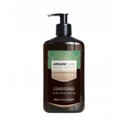 ARGANICARE HUILE DE COCO Apres shampooing 400ml