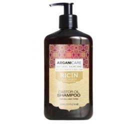 ARGANICARE HUILE DE RICIN Shampooing 400ml