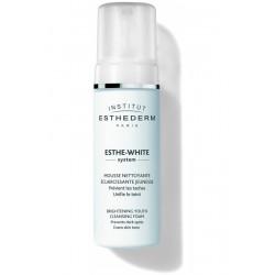 ESTHEDERM ESTHE-WHITE SYSTEM Mousse Nettoyante Eclaircissante