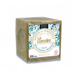 LA CORVETTE Savon De Marseille Olive 300g