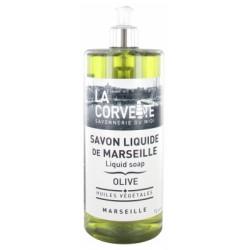LA CORVETTE Savon de Marseille Olive 1l