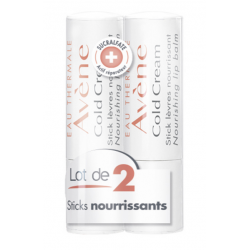 AVÈNE COLD CREAM Stick Lèvres - Lot de 2x4G