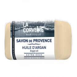 LA CORVETTE SAVON DE PROVENCE Huile D'Argan 100g