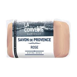 LA CORVETTE SAVON DE PROVENCE Rose 100g